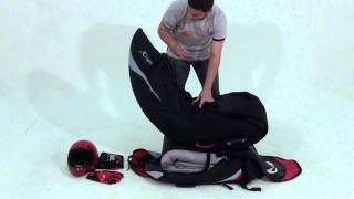 Harness X Light  Packing in the backpack - SOL Paragliders