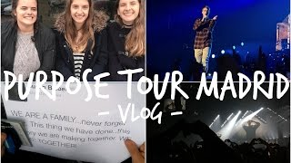 VLOG: Purpose Tour Madrid | NotisBieber