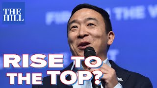 Panel: How Andrew Yang could rise to the top tier