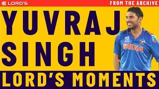 Yuvraj Singh's Highlights   MCC vs ROW Lord's Bicentenary Celebration Match