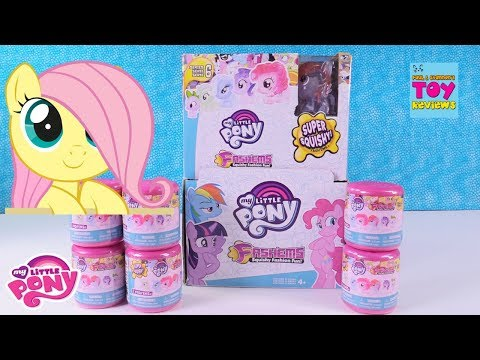 My Little Pony Fashems Series 6 Full Set Hunt Squishy Toy Review | PSToyReviews