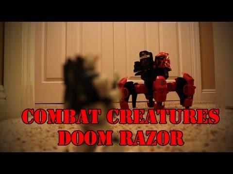 Combat Creature Attacknid Doom Razor Review