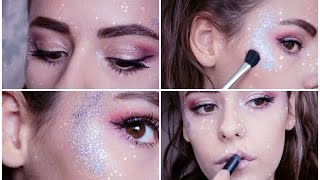 Galactic Glitter Festival Makeup Tutorial   Tilly Louise