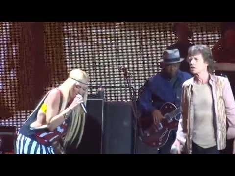 "The Rolling Stones ""Wild Horses"" with Gwen Stefani May 3, 2013 Los Angeles Staples Center"