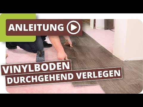 vinylboden durchgehend ohne dehnungsfuge verlegen. Black Bedroom Furniture Sets. Home Design Ideas
