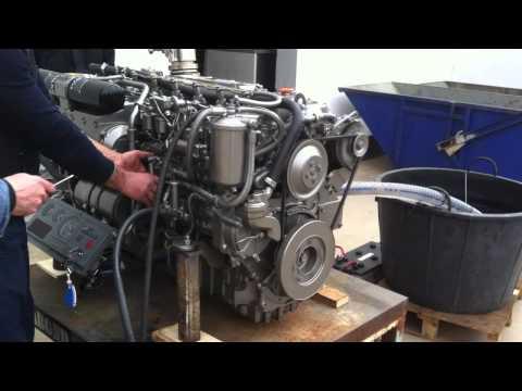 Yanmar 1gm10 10hp Inboard Diesel Marine Engine Demo Run