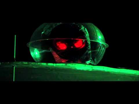 Germann Halloween Light Show 2011 - Thriller / UFO Takeover
