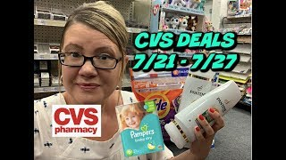 CVS IN-STORE DEALS & FREEBIES (7/21 - 7/27) | LOTS OF FREEBIES, SUPER-CHEAP DIAPERS & MORE!