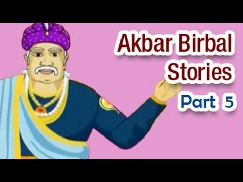 Akbar Birbal Hindi Animated Story - Part 5 6 video