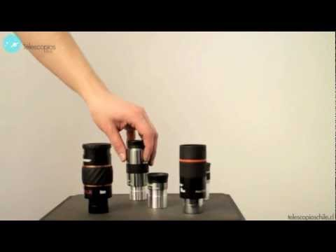 Cómo usar y manejar los oculares del Telescopio
