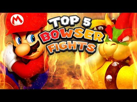Top 5 Bowser Battles! (New Super Mario Bros. Series)