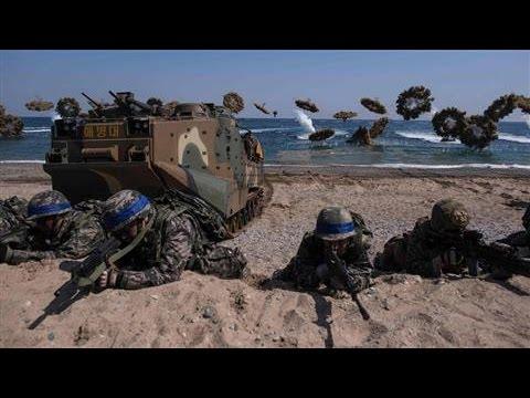South Korean Drills Go Ahead Despite Northern Threats