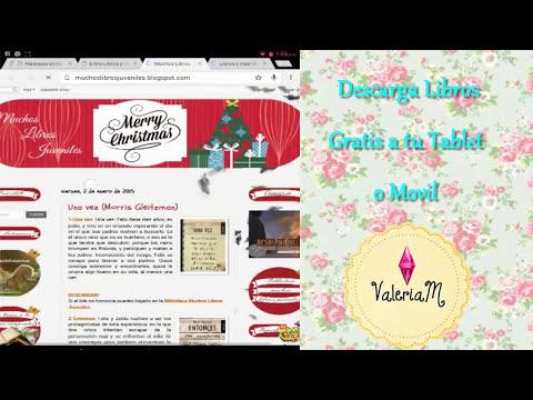 Descarga Libros GRATIS para tu tablet y Movil  ANDROID 2015