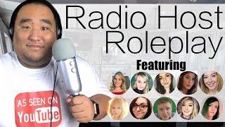 [ASMR] Radio Host Roleplay (Featuring 10 ASMRtists) | MattyTingles