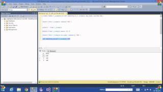 24.SQL Server Tutorial-Telugu(Identity column)