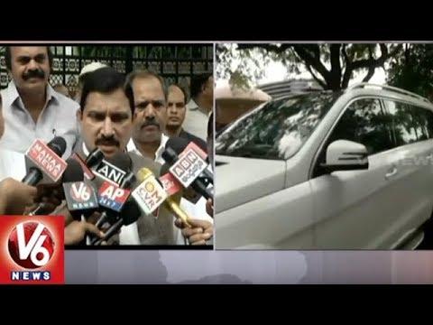 TDP MP Sujana Chowdary Speaks On Meeting Kejriwal Over No Confidence Motion Against NDA Govt | V6
