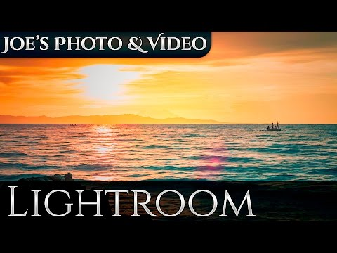 Lightroom 5 Workflow: Editing Waterscape Sunsets, Butuan Bay | Retouching Tutorials