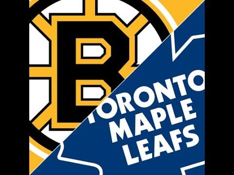 Toronto Maple Leafs vs Boston Bruins 10/25/2014 Post Game LIVE