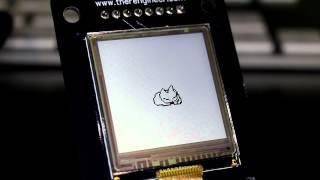 Sharp Memory Lcd kitty