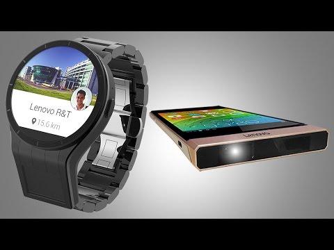 Lenovo Announces Dual-Screen Smartwatch, Projector Smartphone