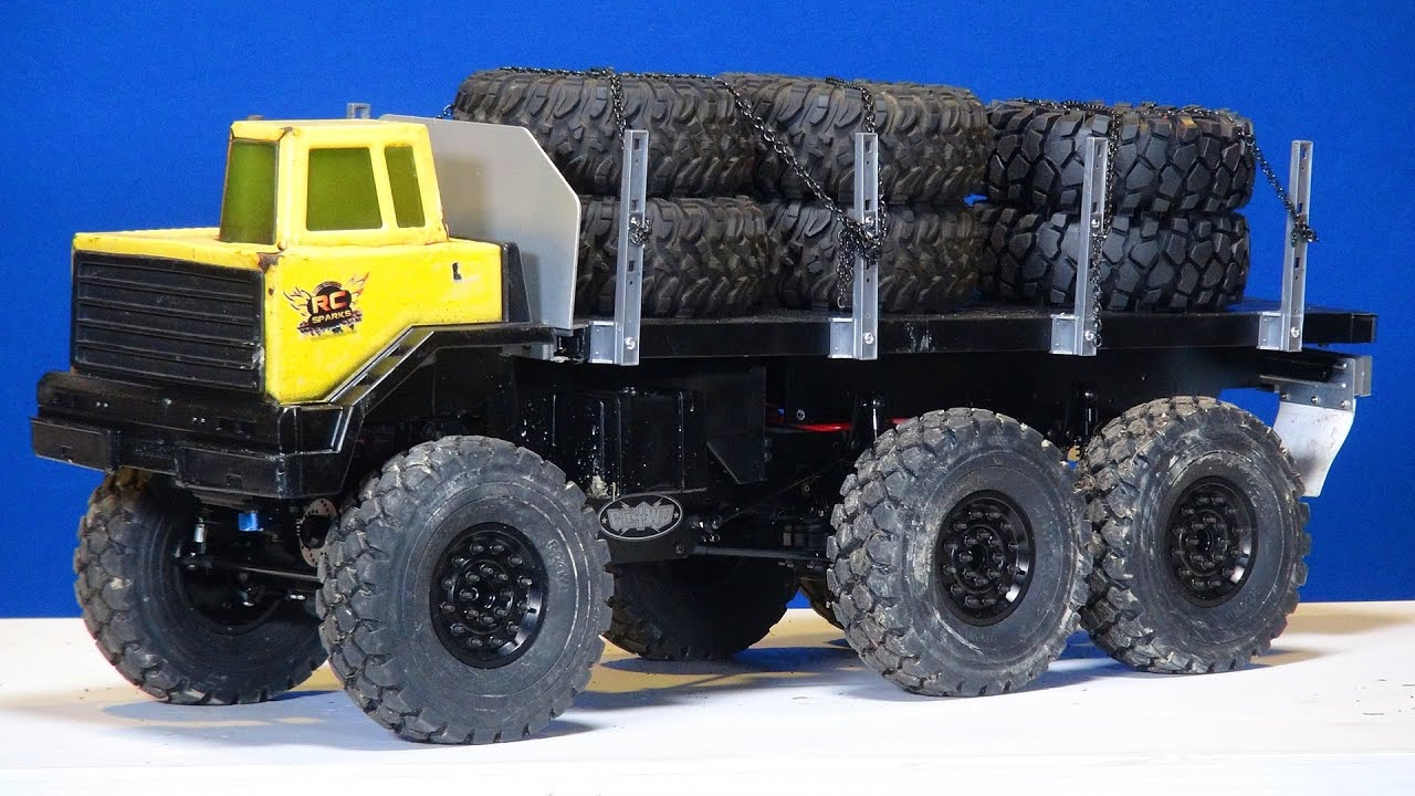 Rc Adventures 6x6 Motor Swap Blackwell 1 10th Scale