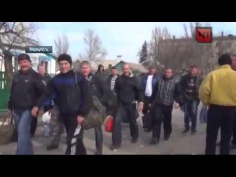 Мариуполь бойцы украинской армии готовы к боям