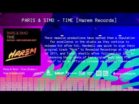Paris & Simo - Time [Harem Records/Sirup Music]