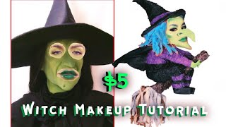 WOW Such an Affordable Witch Makeup Tutorial  Gabriel Zamora