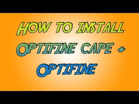 How to get an Optifine Cape + Optifine!!! ( FREE + EASY )