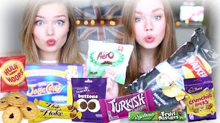 Trying British Candy & Snacks ♡ Taste Test