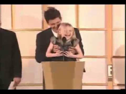 Dakota Fanning y Orlando Bloom - Critic Choice's Awards 2001 -