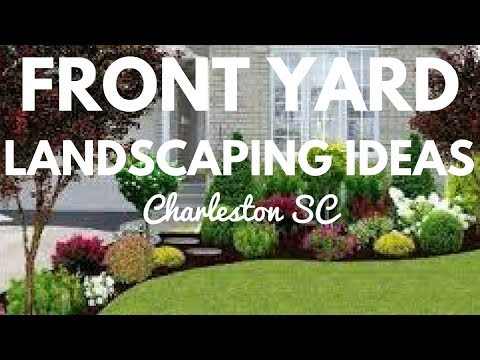 FRONT YARD LANDSCAPING IDEAS IN CHARLESTON SOUTH CAROLINA SC SOUTHERN GREEN