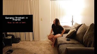 END OF WORLD PRANK ON WIFE!