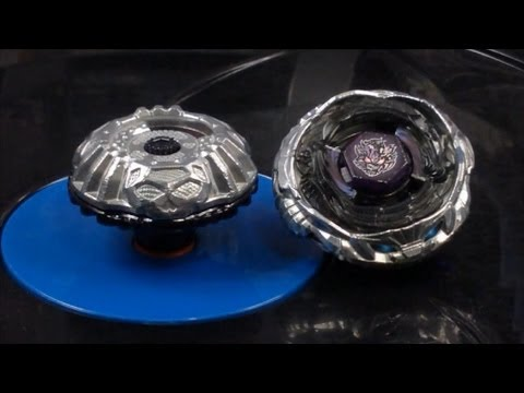 EPIC Beyblade Battle Prototype Nemesis 195RD VS Diablo Nemesis X:D HD! AWESOME