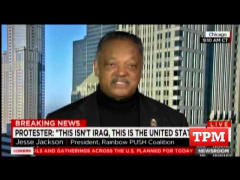Jesse Jackson Explains Civil Rights History To Confused CNN Host