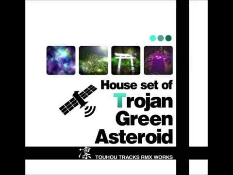 Touhou House Set of Trojan Green Asteroid 05: The Gensokyo That Floats in Outer Space
