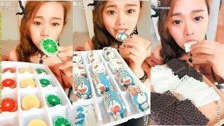 TKTV ♥ Ăn bánh hình Doraemon ♥ Kẹo hình lát cam đủ màu và nhiều loại kẹo hình thù độc đáo