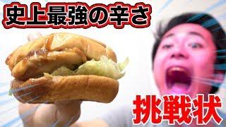 【ガチ】歴史上最強に辛いハンバーガーが挑戦してきたから真っ向勝負や!!