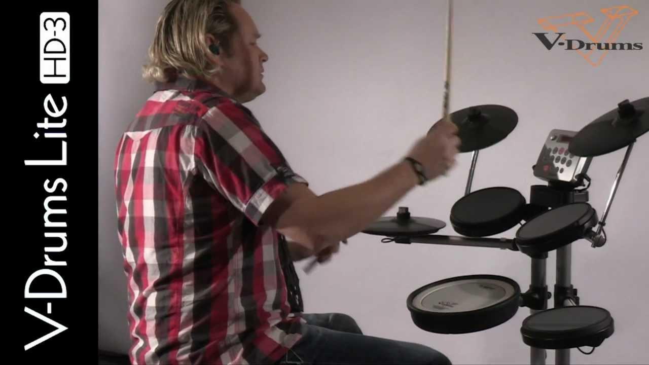 Roland hd 3 v drums lite dirk brand youtube - Roland hd3 v drum lite set ...