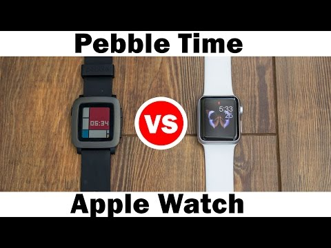 Pebble Time vs Apple Watch - Full comparison