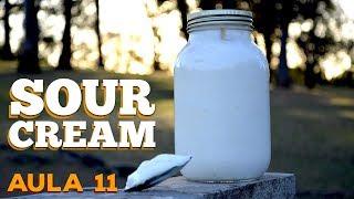 Aula 11 / Sour Cream (Creme Azedo) - Cansei de Ser Chef