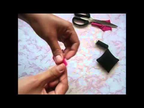 Как сделать бантики ютуб