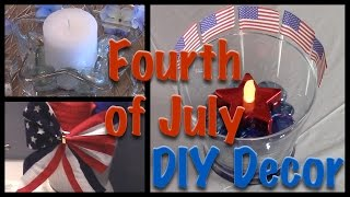 DIY 4th of July Dollar Tree Decor | 6 Easy & Affordable Ideas!