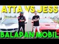 BALAP MOBIL ATTA VS JESS No Limit! i8 VS Ferrari 🔥 NGERI!!
