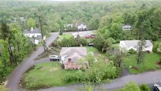 Hudson Valley Drone - Newburgh tornado damage