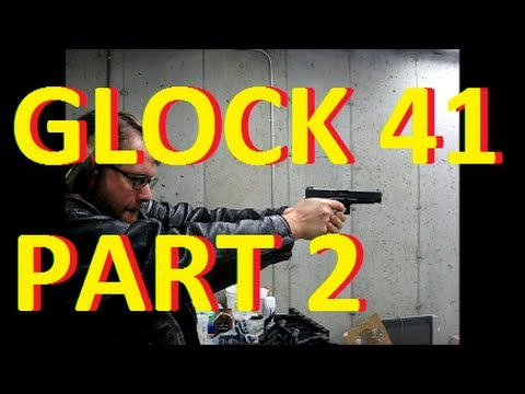 Glock 41 Review part 2: LOTS OF SHOOTING 500 round torture test jeffshootsstuff