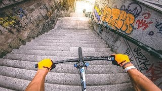 MTB STREET TOUR in VIGO, SPAIN !