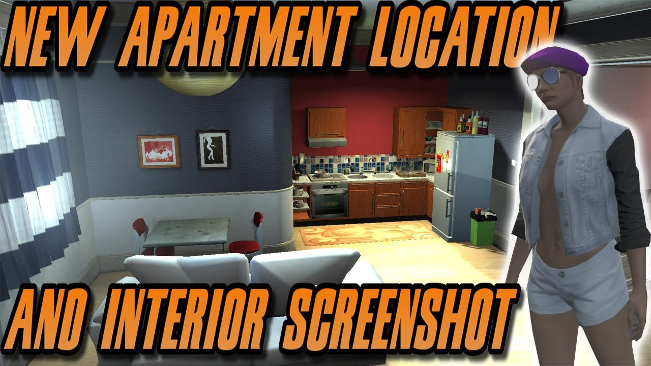 Gta 5 New Apartment Location And Interior Screenshot High Life Dlc Youtube