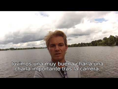 Videoblog de Nico Rosberg tras el polémico GP de Bélgica (SUBTITULADO)
