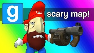 Gmod Scary Map (Not Really) Moments - Meth Head Mario (Garry